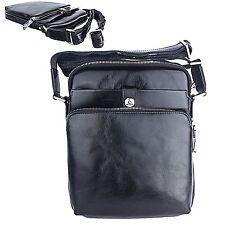 Men Bags  Shoulder Bag Cross Bag  Natural Leather  Men Gifts L63Black