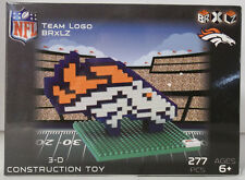 Denver Broncos BRXLZ Team Logo 3D Toy PUZZLE 277 Pcs SET NFL Ages 12+ GIFT