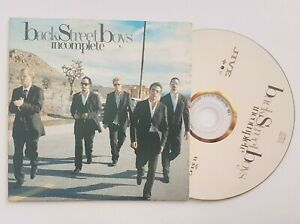 BACKSTREET BOYS : INCOMPLETE (french only JIVE BMG promo) ╚  CD Single Promo ╝
