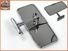 Stainless Steel UNIVERSAL Rear View Mirror Interior MG FORD MINI TRIUMPH JAGUAR