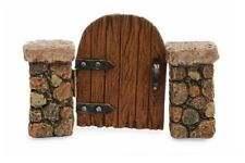 Miniature Dollhouse FAIRY GARDEN - Wooden Gate - Accessories