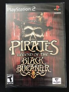 Pirates: Legend of the Black Buccaneer (Sony PlayStation 2, 2006) NEW PS2 SEALED