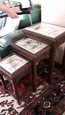 3 tables gygogne style chinois