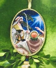 Keeping Watch Christmas Ornament Blackberry Lane Cross Stitch Pattern