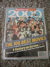 """Newsweek Extra 6/98,""""The 100 Best Movies"""" ranked by the American Film Industry"""