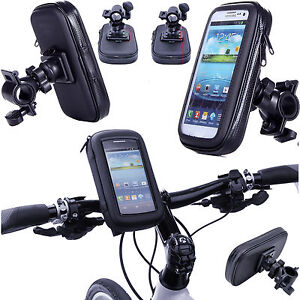 360° Waterproof Bike Mount Holder Case Bicycle Cover for Various Mobile Phone's
