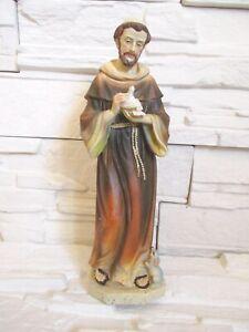 Heiliger Franziskus Ordensbruder 30 cm Religion Kirche Figur Skulptur