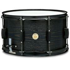 "TAMA Woodworks 14x8"" Poplar Snare Drum Black Oak Wrap"