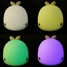 USB Cute Sensitive LED Dolphin Night Light Kids Bedroom Animal Night Light