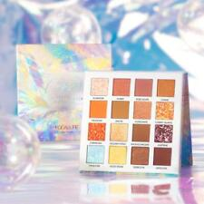 Focallure Crystal Eyeshadow Palette 16 Color - 4 In 1 Hybrid Pressed Multicolor