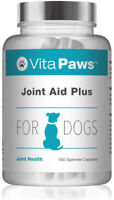 Joint Aid Plus 500mg For Dogs By VitaPaws™ 180 Sprinkle Capsules | Joint Care