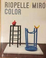 Riopelle / Miro Color by Acquavella new hardcover art exhibition book