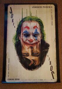 JOKER Recalled 27x40 1-Sheet DS Movie Poster Double sided MINT Joaquin Phoenix
