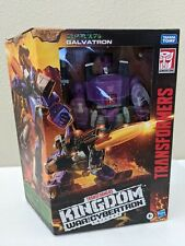 Transformers Kingdom Galvatron Leader Class War for Cybertron WFC-K28 In Hand