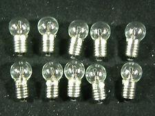 Lionel Trains Light Bulbs # 430 Screw Base 14 Volt - Clear
