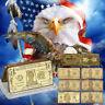 WR 24K GOLD Bullion Bar /w US Dollar Bill Note Design Set $1 2 5 10 $20 $50 $100