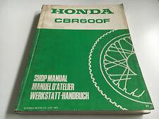 Werkstatthandbuch CBR 600 F -(H) (1987) (PC19)
