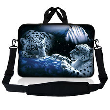 "15.6"" Laptop Sleeve Bag Case w Shoulder Strap HP Dell Asus Acer Mountain Lions"