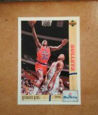 CARD NBA - UPPER DECK - BERNARD KING - WASHINGTON BULLETS - N. 104 - 1991/1992