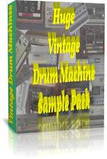 RARE Vintage Classic Drum Machines 13k+ échantillons Cubase Motif Logic Live Reaper