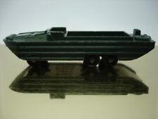 MATCHBOX 1-75 MOKO LESNEY Nr. 55 A  D.U.K.W. AMPHIBIENAUTO 1958 72mm SchwarzePR