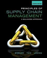 Principles of Supply Chain Management Fourth 4th Wisner 1285428315 9781285428314