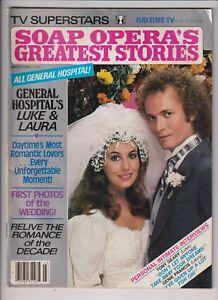 Soap Opera's Greatest Stories Mag Luke & Laura GH March 1982 111719nonr