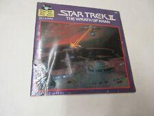 Star Trek Ii The Wrath of Khan Buena Vista Record Read Along 24 Pg Book Sealed!