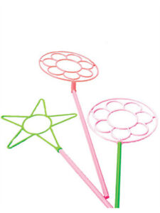 """Set of 12 Large 24"""" Neon Bubble Wands"""