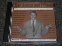 Stan Kenton And Friends~RARE Previously Unreleased Big Band Jazz~FAST SHIPPING!