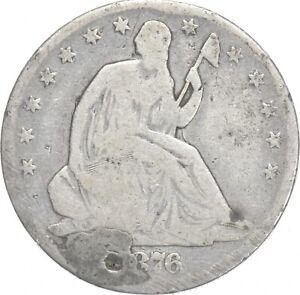 50c - Better - 1876 - Seated Liberty Half Dollar *723