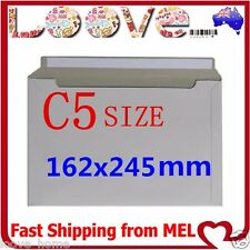 50x C5 Size 162x245mm Heavy Duty Envelope Card Mailer Tough Bag Cardboard Light