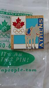Rare Athens 2004 Canadian NOC  pins