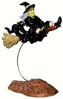 Lemax 22005 OUT-OF-CONTROL WITCH Spooky Town Figurine Halloween Decor Figure I