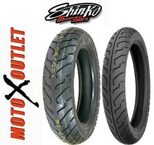 HARLEY SPORTSTER Motorcycle Tires 100/90-19 FRONT 130/90-16 REAR Set Shinko 712