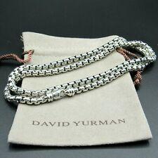 "David Yurman Necklace Box Chain 5.2mm  24""L"