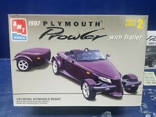 AMT ERTL  1997 PLYMOUTH PROWLER with Trailer Model