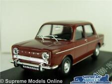 SIMCA 1000 MODEL CAR 1:43 SCALE IXO MAROON 1962 SALOON K8