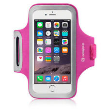 For Apple iPhone 6/6S/7/8 Shocksock Hot Pink Case Sports Gym Jogging Armband