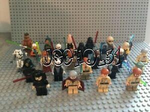 LEGO Star Wars Minifigures Lot - Jedi, Sith, Yoda, Darth Vader - You Pick!