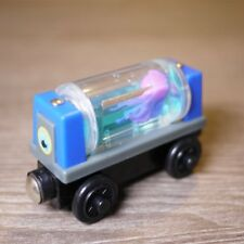 RARE LOOSE LEARNING THOMAS WOODEN MAGNETIC TRAIN- AQUARIUM CAR