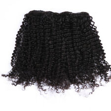 """Afro Kinky Brazilian Virgin Remy Clip in Extensions 12""""-20"""" 100g 100% Human Hair"""