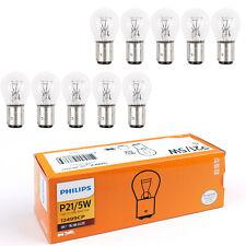 10pc For PHILIPS 12V 21/5W Signal Light P21/5W BAY15d 12499 Bulb Brake Lamp
