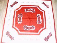 1 neue Tischdecke von Topvar Brauerei Werbemittel Biertisch 135 x 135 cm selten