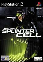 SPLINTER CELL  FOR PS2 PS3 GAME ENGLISH  GAME COMPLETE