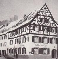 Waldkirch im Breisgau - Gasthaus zum Engel um 1950