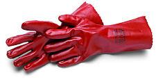Schutzhandschuhe in rot, für Industrie geeignet, 35mm lang  XXL EUR nur 5,90