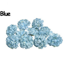 10PCS Gift Party Supply Craft Wedding Silk Hydrangea Wreath Artificial Flower