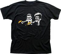 Pulp Fiction banana black printed cotton t-shirt 9731