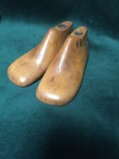 Pair Vintage Wood Child's Size 6 Shoe Factory Industrial Mold Last